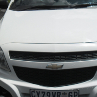 A Chevrolet Bakkie with canopy , 2014 Model,Factory C/A, C/D Player, Central Locking, White In Color