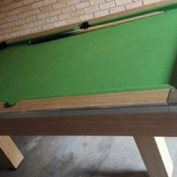 Pool Table, Cue's and Balls for Sale