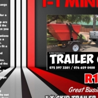 MiniSkip Trailers For Sale @ R154999 * March Special *