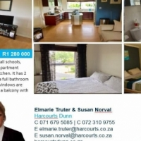 Apartment in a security complex for sale !