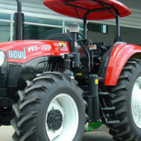 S2188 Red YTO 1104 81kW/108Hp 4x4 New Tractor