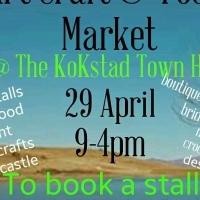 Kokstad Art Craft & Food Market 29 April 2017 to book a stall