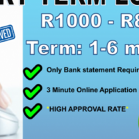 Short Term Loans up to R8000! Get Cash Today!