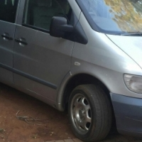 2004 merc vito 112 diesel-5 speed mini bus/8 seater -