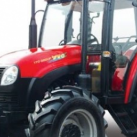 S2183 Red YTO 804 CAB + A/C 59kW/80Hp 4x4 New Tractor