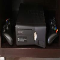 Xbox 360 Black consol.