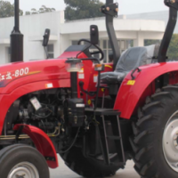 S2182 Red YTO 800 CAB + A/C 59kW/80Hp 4X2 New Tractor