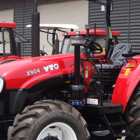 S2186 Red YTO 904 Wet Clutch 67kW/90Hp 4x4 New Tractor