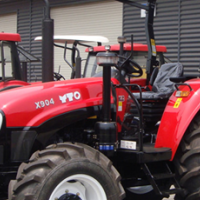 S2184 Red YTO 904 67kW/90Hp 4x4 New Tractor