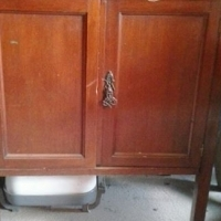 Cupboard with 2 doors & 1 drawer