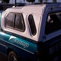 Canopy for Nissan 1400 Champ bakkie