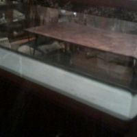 2meter Fish tank with cabinet and filter. No leaks. Negotiable