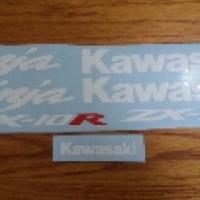Kawasaki zx 10r graphics stickers decal kits