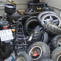 Bike Of road and many more stripping for spares