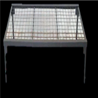 Single Bed Army Metal with weld mesh Mattress section