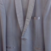 Mens Black Dress Suit - Trevira Suit - Man About Town - As New