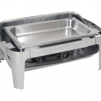 CHAFING DISH STAINLESS STEEL - ROLLTOP