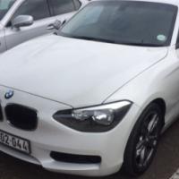 2012 BMW 118i 5 Door Hatchback Automatic (F20)