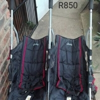 Jeep Twin Stroller for sale.