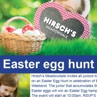 Hirsch's Meadowdale: Easter Egg Hunt