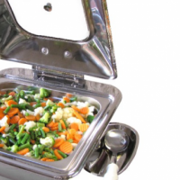 CHAFING DISH - INDUCTION SQUARE