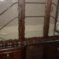 Antique Show Case with build in radio