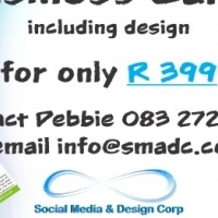 NEED BUSINESS CARDS! 500 CARDS FOR ONLY R 399