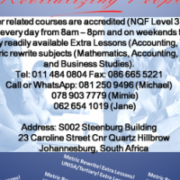 CALL NOW! IT/Computer Full/Short courses! Metric Rewrite & UNISA/Varsity! Extra Lessons! CALL NOW!