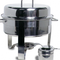 CHAFING DISH STAINLESS STEEL - POLISHED