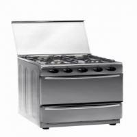 Zero 4 Burner Stainless Steel Gas Stove New -  1 Year Factory Warranty - LPGSASA Safe Appliance