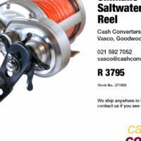 Shimano Trinidad 30A Saltwater Fishing Reel