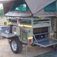 2005 BUSHBABY VENTER 4x4 TRAILER