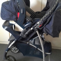 Graco Pram and Baby Carrier Seat For Sale: