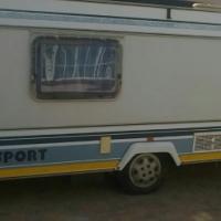 Newly renovated caravan