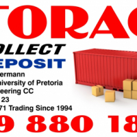 STORAGE and Self-Storage .we collect your goods @ R 990 only !!