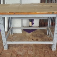 Large Work Bench with Vice