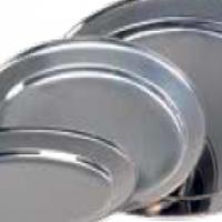 SERVING PLATTER OVAL S/STEEL