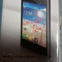 LG L5 like new with boks and all