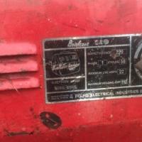 Fuchs electrical welding machine