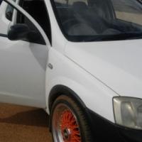 2006 opel corsa utility 1.4i base white