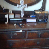 Dresser and wash table for sale