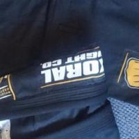 A1 Jiu Jitsu Koral Limited edition black and gold gi