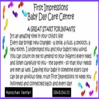 First Impressions Baby Day Care Centre