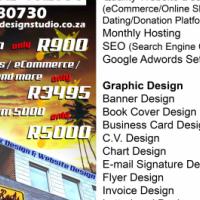 Need a website? Website design only R900!