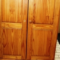 Pine Cupboard S023733B #Rosettenvillepawnshop