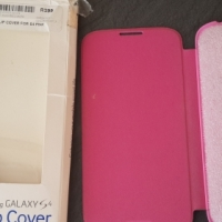 Galaxy S4 original flip cover   R150.00 NOT NEG, NO EFT, BUYER MUST COLLECT,