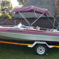 17ft Citation Bow rider with 140hp Suzuki Fuel & oil injected outboard.