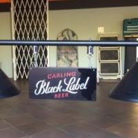 Black Label pool table / Bar counter light
