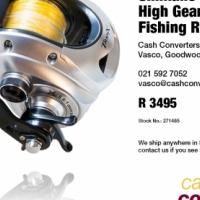 Shimano Tranx 500HG High Gear Baitcasting Fishing Reel