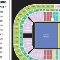 2x Justin Bieber Golden Circle / Front Zone Tickets